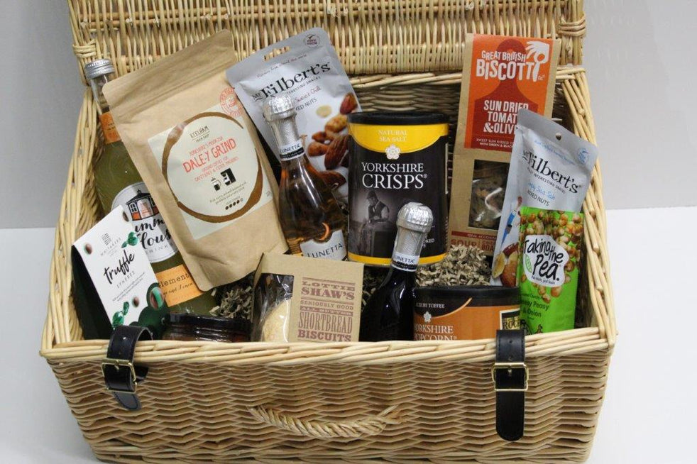 Just For You Hamper with Wicker