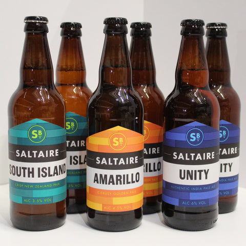 Saltaire Brewery Pale Ale Selection 500ml  x 6