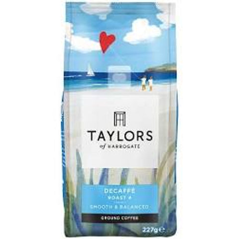 Taylors of Harrogate Decaff Ground Coffee 227g