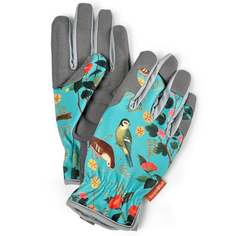 Ladies Gardening Gloves - Flora & Fauna RHS Design