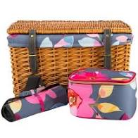 Wicker Picnic Basket for 4 - Gardenia Design