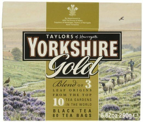 Yorkshire Tea Gold - 80s