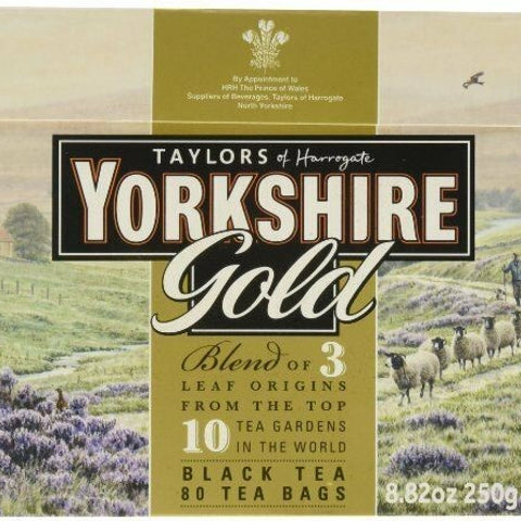 Yorkshire Tea Gold 80s