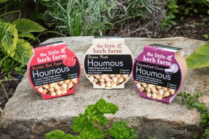 The Little Herb Farm Houmous 200g - Various