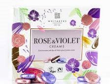Whitakers Rose and Violet Cremes