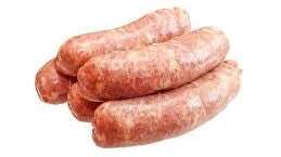 Thick Pork Sausages - Tray of 8