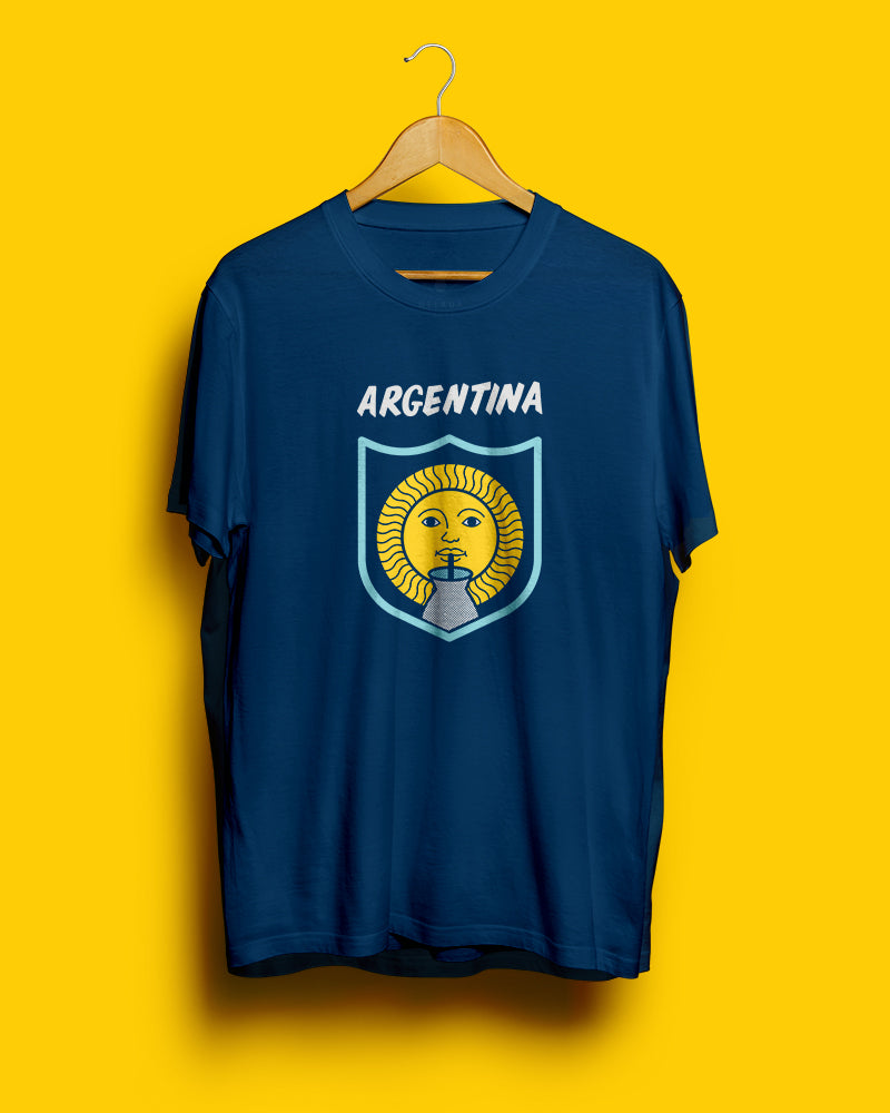 70% OFF SALE || Argentina, Mundial 2018 || Navy Blue Unisex T-Shirt