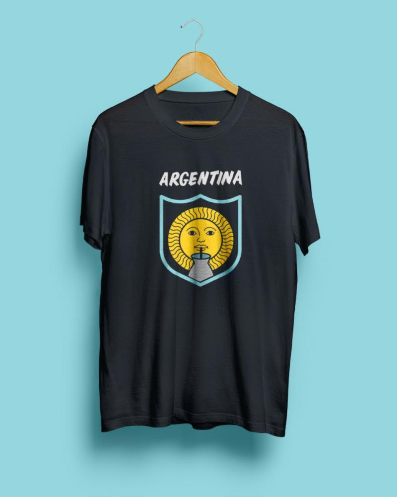 70% OFF SALE || Argentina, Mundial 2018 || Black Steel Unisex T-Shirt