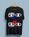 EYES by Weisstub | Black Unisex T-Shirt