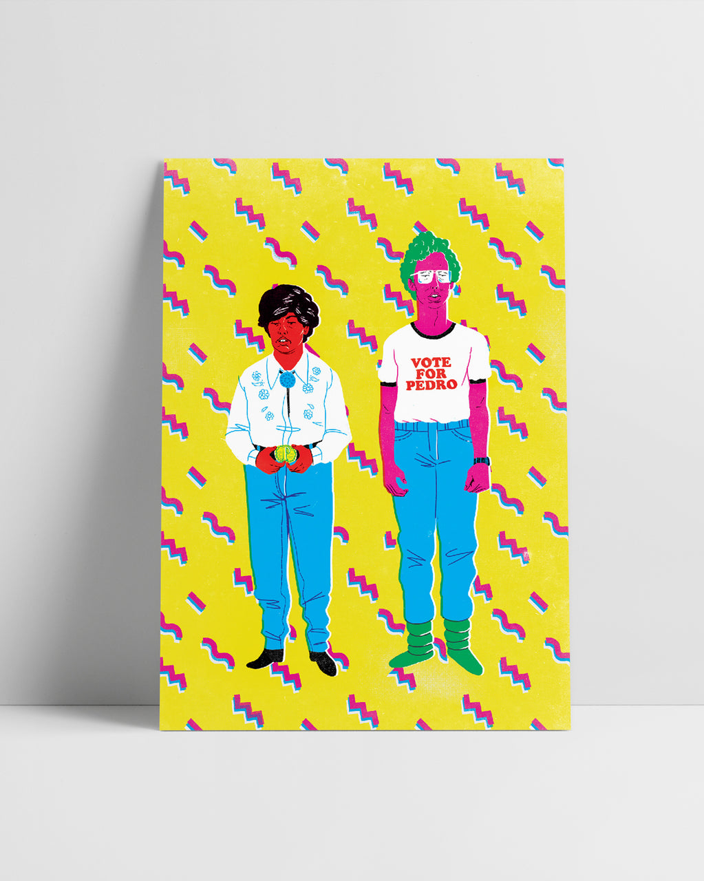 The Bromance Series | A3 Original Illustration Poster, Digital Print