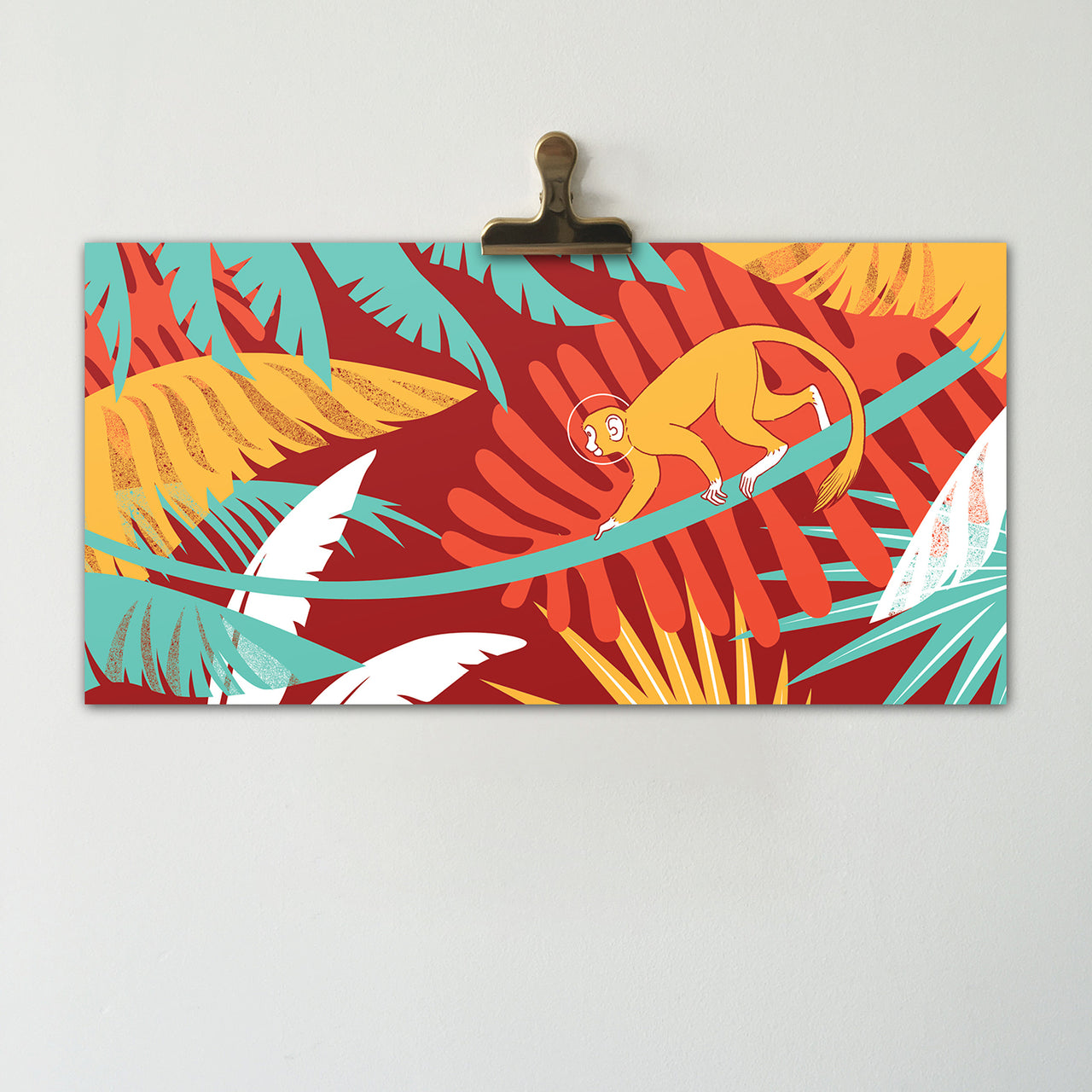 BUY 2 GET 1 HOLIDAY SALE | Jungle Monkey || Original Illustration Poster, Digital Print