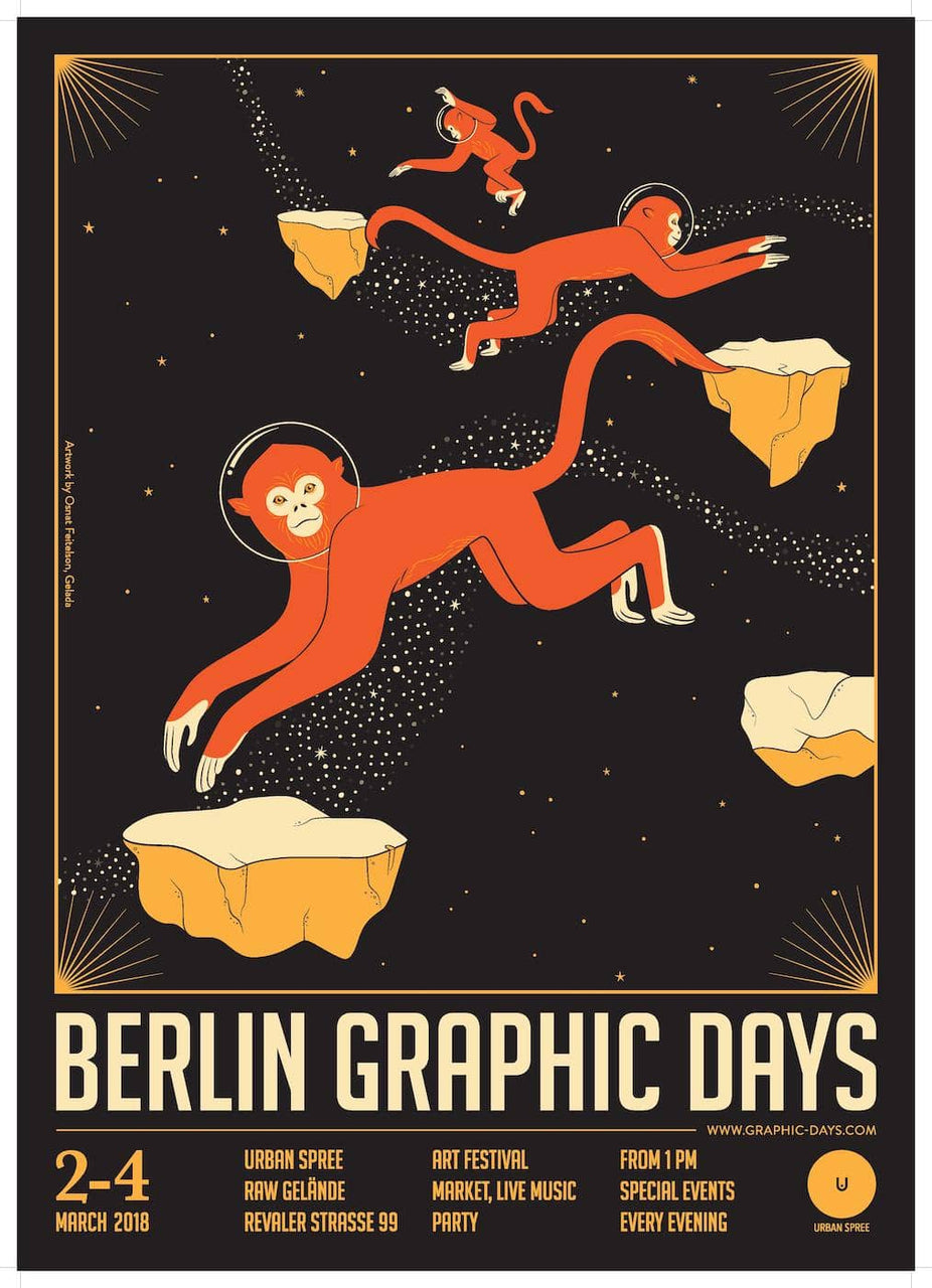 Berlin Graphic Days 2018 | by Osnat Feitelson