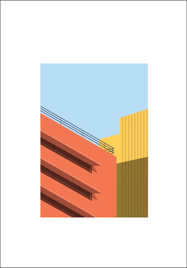 Parking Garage by Kiril Cherikover | Fine Art Print