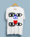 EYES by Weisstub | White Unisex T-Shirt