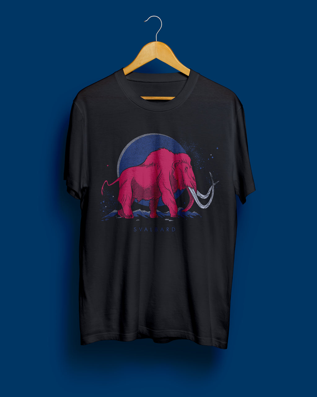 Mammoth Tee | Black Steel Unisex T-Shirt