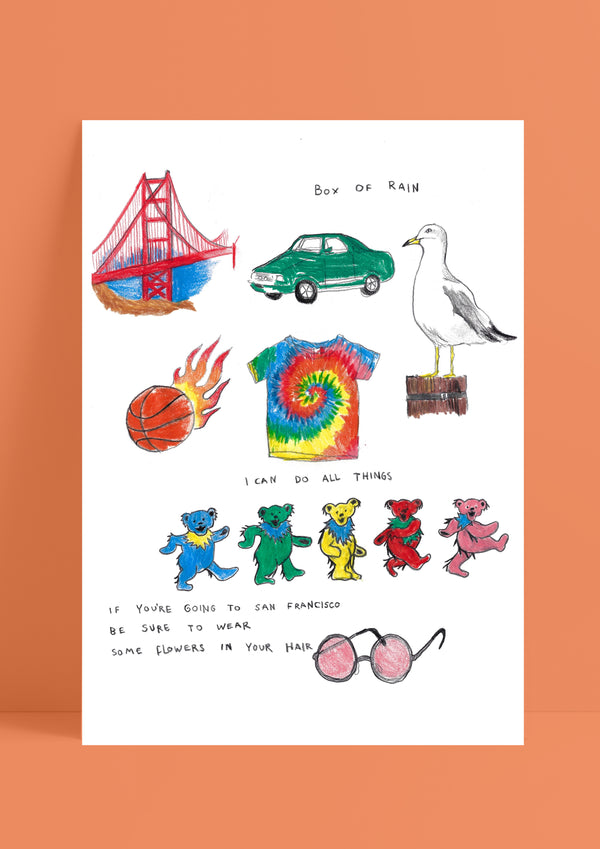 Letters From San Francisco by Tamar Bar