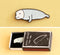 Whale Enamel Pin |The Misfortunes by Noa Goffer