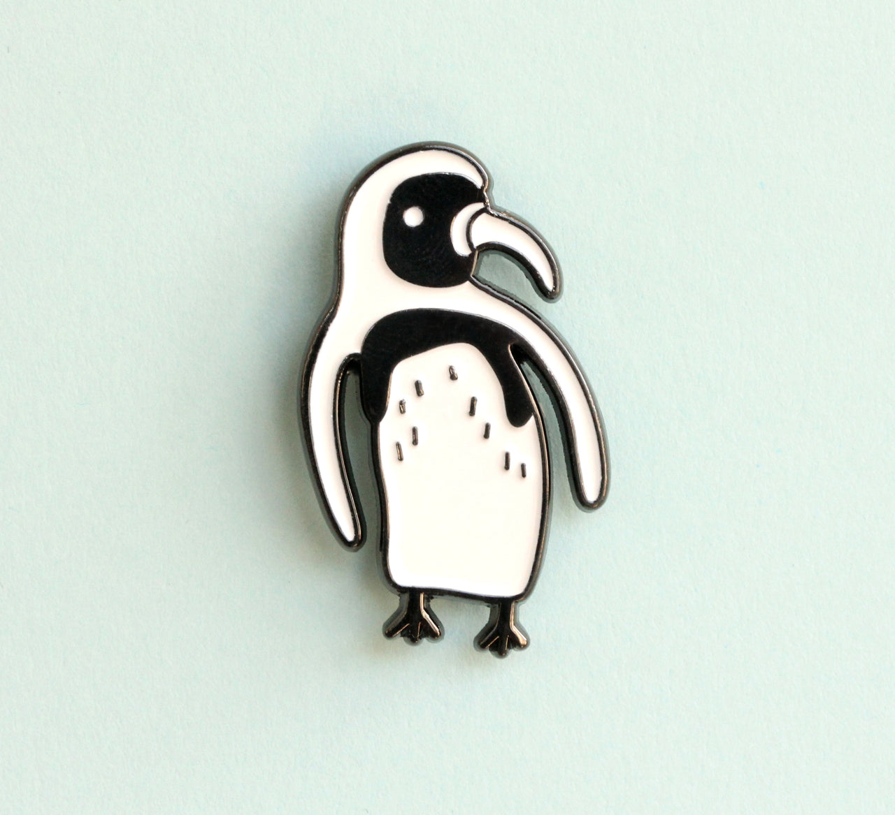 Penguin Enamel Pin |The Misfortunes by Noa Goffer