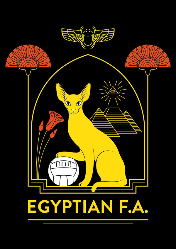 Egypt, Mundial 2018 | A3 Original Illustration Poster, DIgital Print