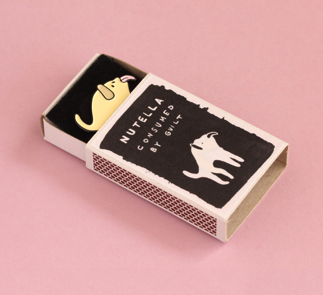 Dog Enamel Pin | The Misfortunes by Noa Goffer