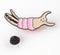 Shrimp Enamel Pin |The Misfortunes by Noa Goffer
