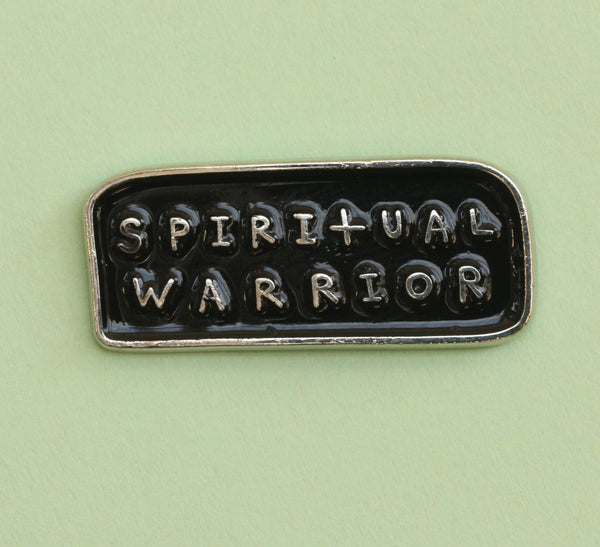 Spiritual Warrior Pin | The Misfortunes by Noa Goffer