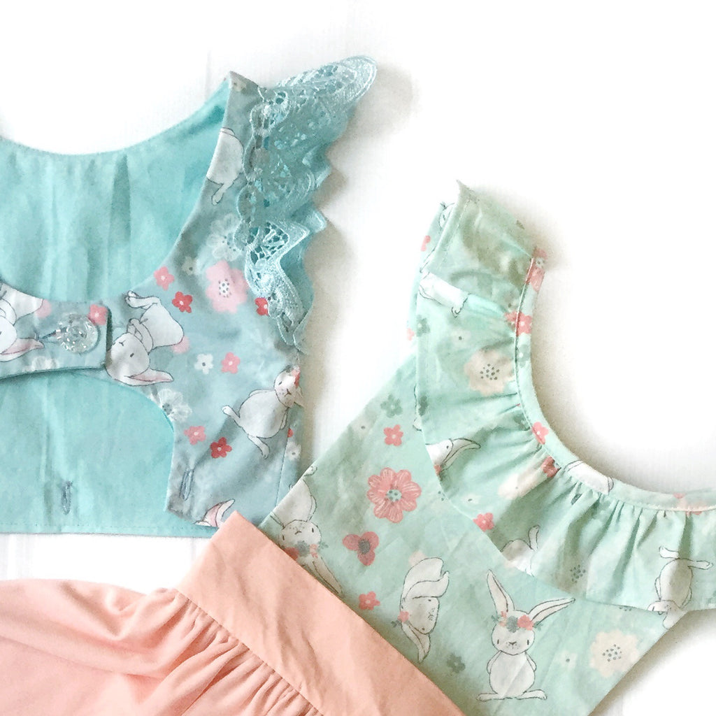 Bunnyhop Mini Stylist Mixup BODICE OPTIONS for girls