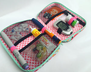 Compact Diabetic Supply Case