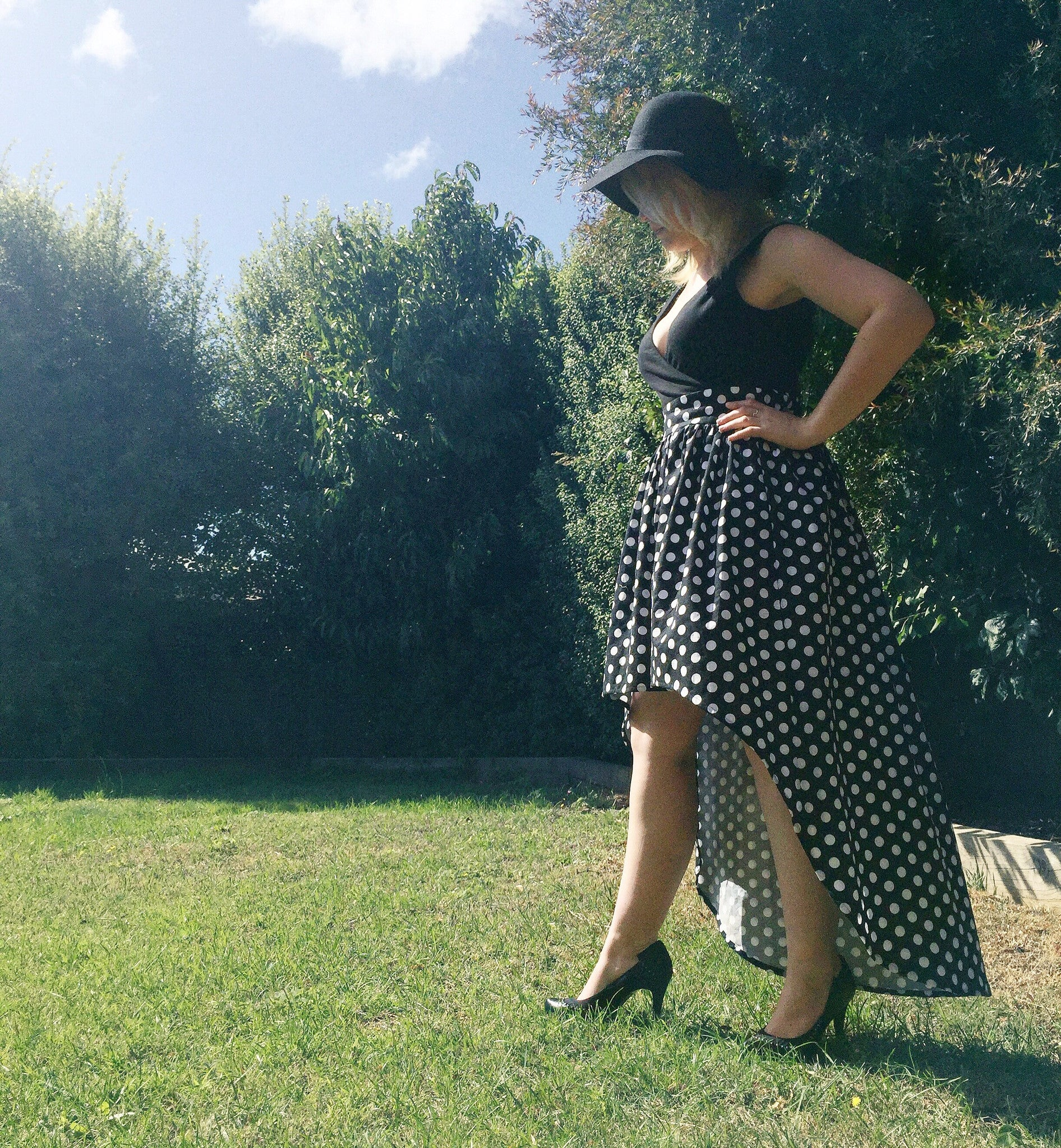 Monochrome Mumma dress