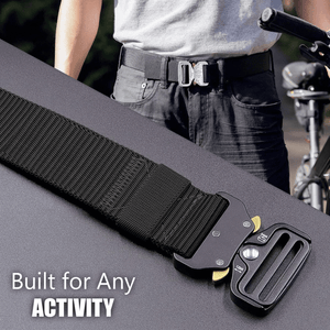 Military Style Tactical Nylon Belt