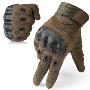 TACTICAL & RIDER GLOVES™ - HARD KNUCKLE TOUCHSCREEN COMPATIBLE