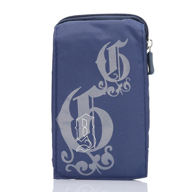 Wallet Mobile Phone Bag with Carabiner