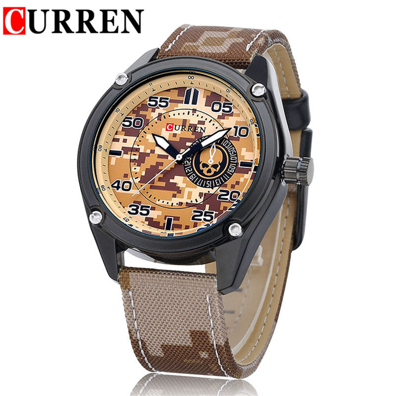 Curren Camo Military Army Quartz Watch