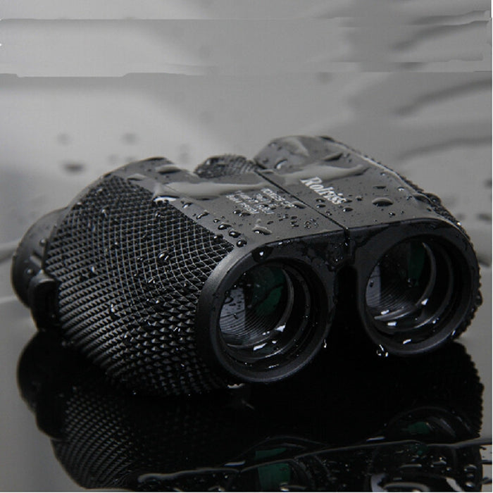 10X25 HD All-Optical Green Film Waterproof Binoculars
