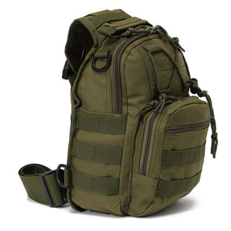 Camouflage Military Nylon Shoulder Backpack