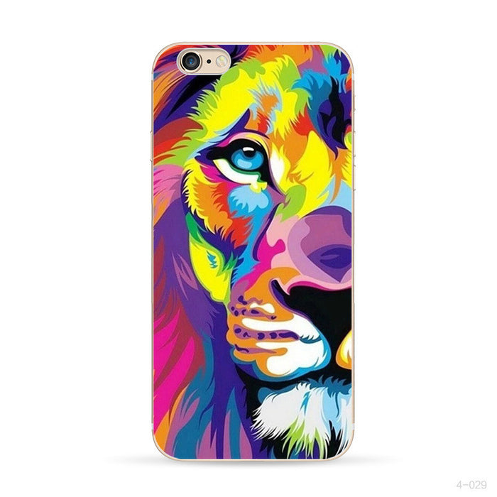 Wildlife Lion Jaguar Cover Case for iPhone 4 4S 5 5S SE 5C 6 6S Plus Touch 5 SONY Xperia Z Z1 Z2 Z3 Z4 MINI M2 M4 C3 C4 C5 T2 T3