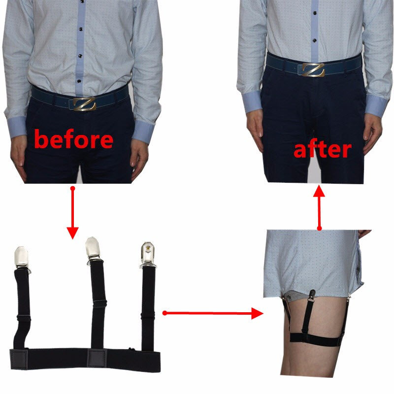 Mens Shirt Stays Style Suspenders