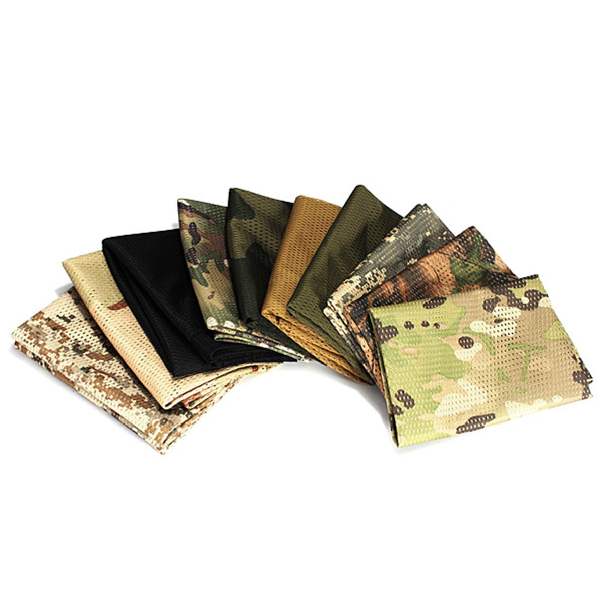 Universal Tactical Camouflage Mesh Scarf