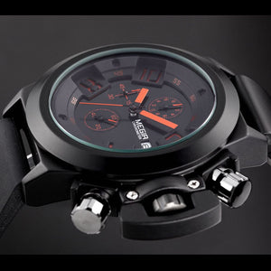MEGIR Chronograph Military Watch
