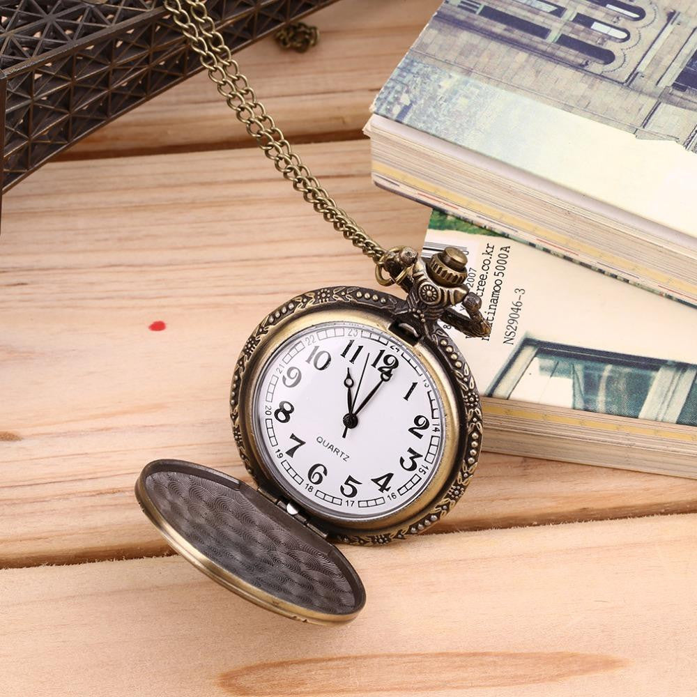Bronze Retro Vintage DAD Pocket Watch