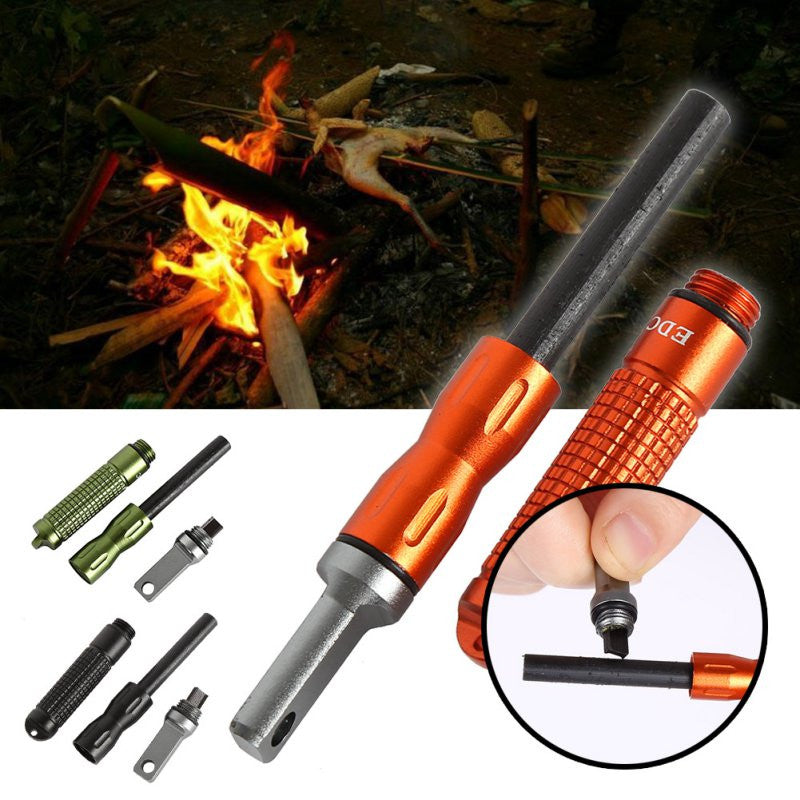 Waterproof Magnesium CNC Alloy Fire starter Flint