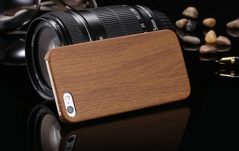 Wood Skin Case Ultra Thin Plastic PC Protective Cover Case