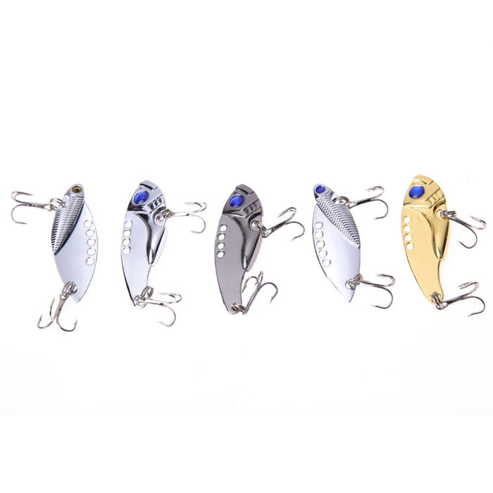 5pcs Metal Fishing Lures