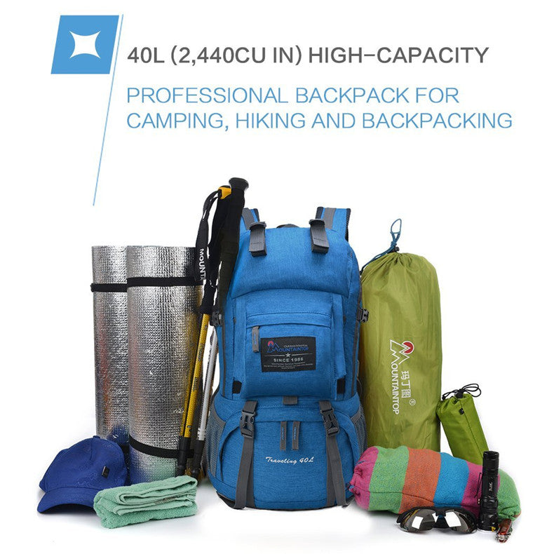 40L Internal Frame Outdoor Backpack
