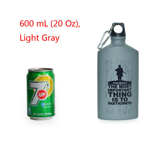 Outdoor Water Bottle Aluminum Flask Leak-proof Military
