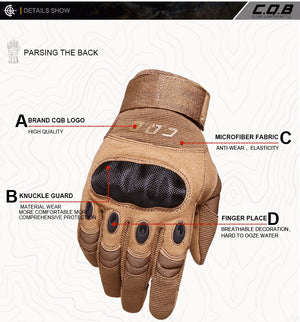 Outdoor Tactical Gloves Hiking