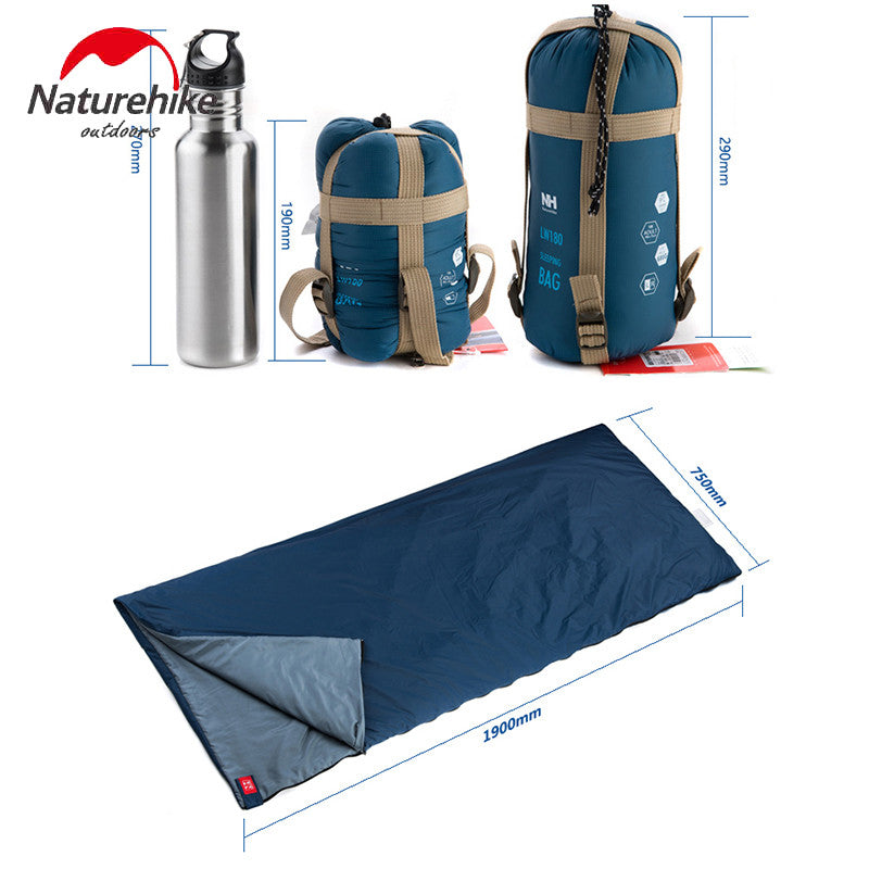 NatureHike Outdoor Ultralight Envelope  Mini  Sleeping Bag