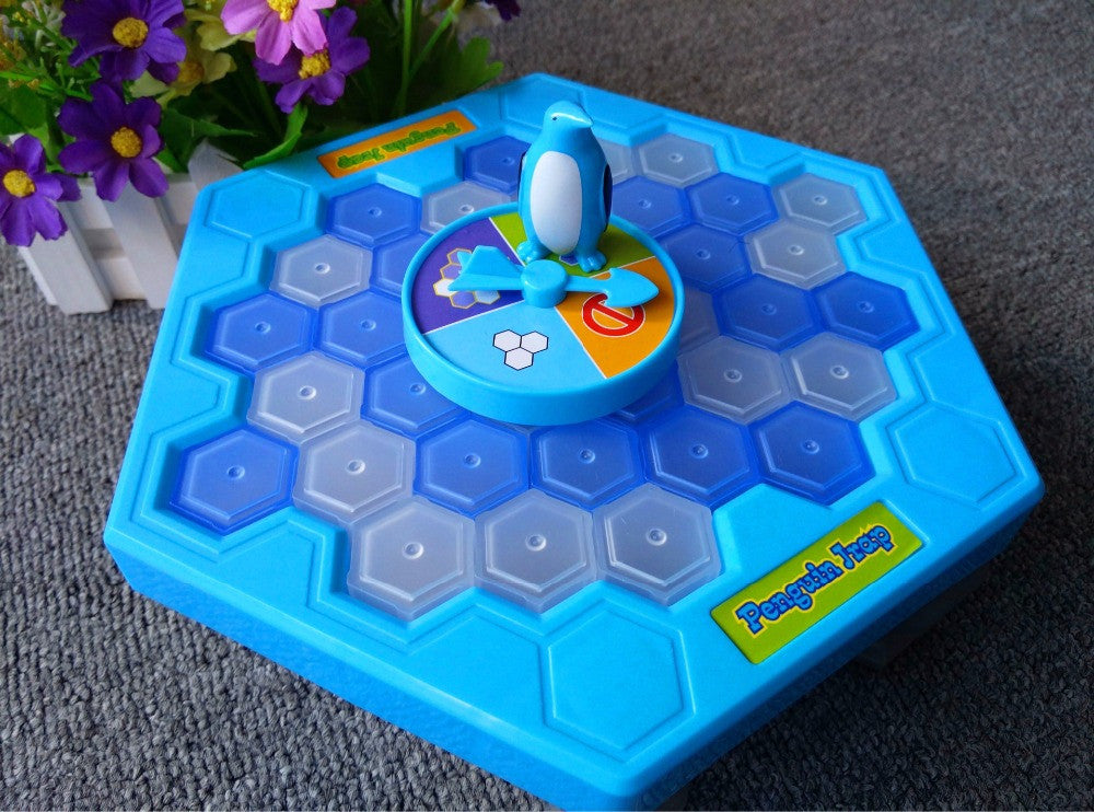 Crush Ice Penguin Game