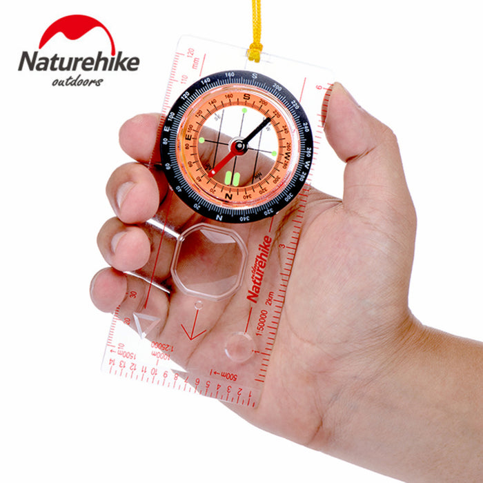 Transparent Compass Direction Guide Orienteering Scouts