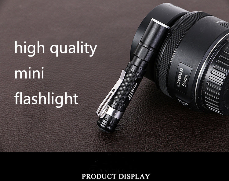 Portable Mini Penlight CREE Q5 2000LM LED Flashlight